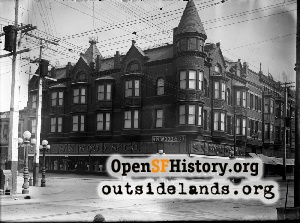 11th & Washington, Oakland,1907