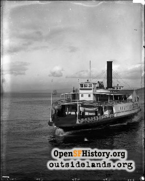 Ferryboat El Capitan,1900