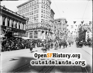 East on Market near Mason,1909