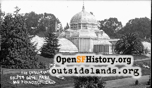 Conservatory of Flowers,1915