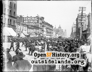 Parade on Market Street,1898