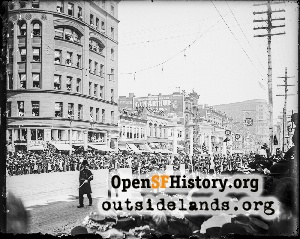 Parade on Market Street,1905