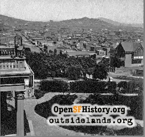 View from Rincon Hill,1865