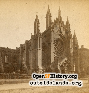 First Unitarian Church, Geary near Stockton