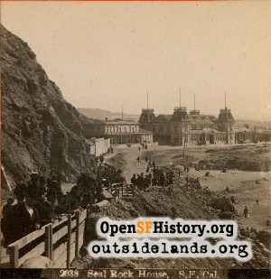 View S from Cliff House,1885