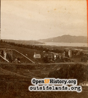 View of the Golden Gate,1880c