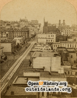 North on Powell,1880s