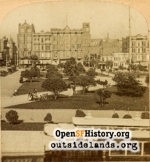 View of Union Square,1895