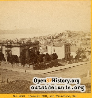 View toward Russian Hill,1870s