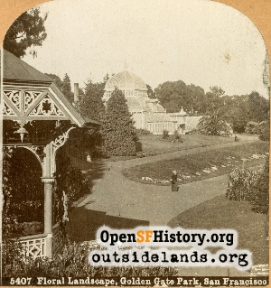 Golden Gate Park,1880c