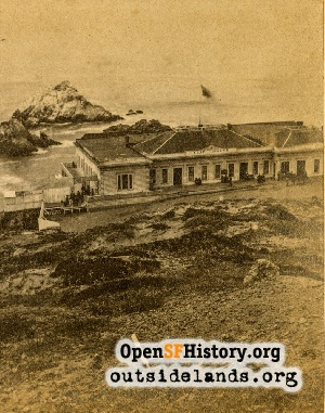 Second Cliff House,1875