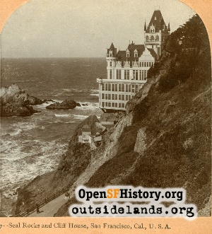 Second Cliff House,1898