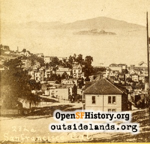 View N from Russian Hill,1880s