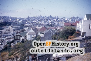 View N from Potrero Hill,1955