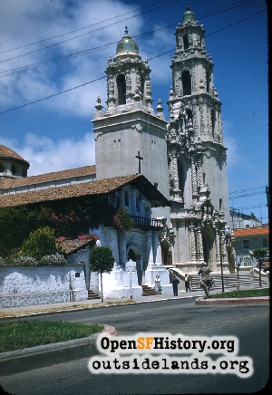 Mission Dolores,1955
