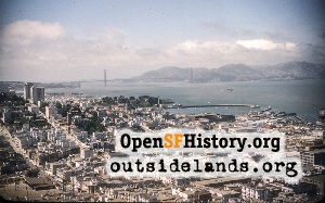 View from Coit Tower,Jun 1958