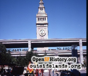 Ferry Building,Aug 1974