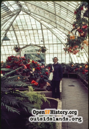 Conservatory of Flowers,Jul 1974
