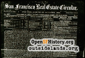 SF Real Estate Magazine,Oct 1889