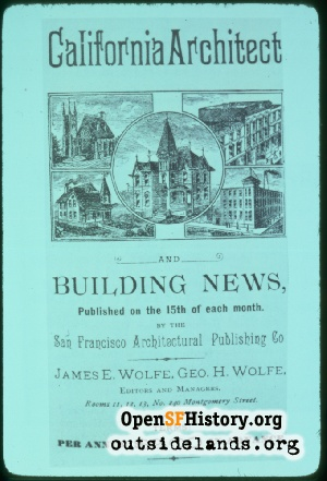 CA Architect & Building News,1880s