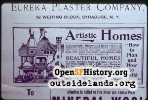 Ad for Architectural Plans,Jul 1893