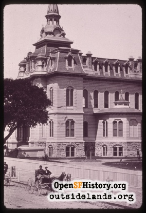 Oakland City Hall,1870s