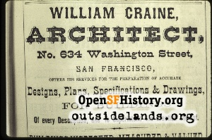 William Craine Ad,1880s