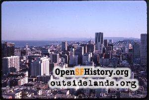 View from Coit Tower,1967