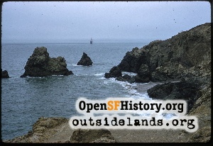 View from Point Lobos,Aug 1958