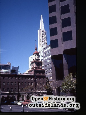 View of Transamerica from Bank of America
