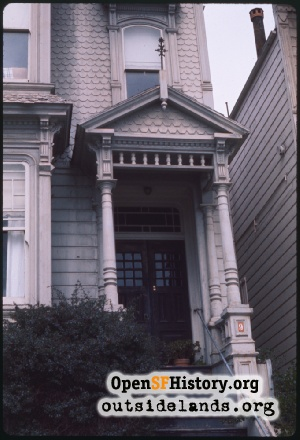 Scott near Duboce,1970s