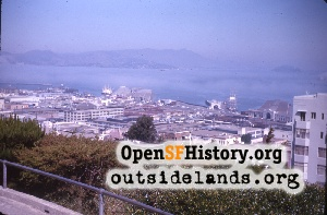View from Telegraph Hill,1963c