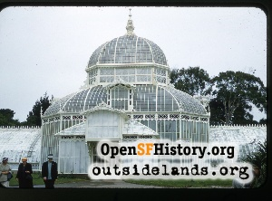 Conservatory of Flowers,Aug 1957