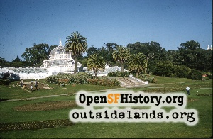 Conservatory of Flowers,Nov 1960