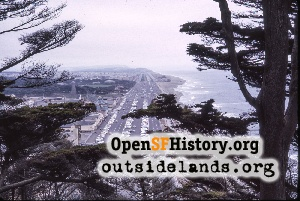 View S from Sutro Heights,Jul 1964