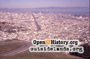 View E from Twin Peaks,Feb 1960