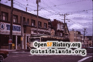 9th Ave & Judah,Apr 1975