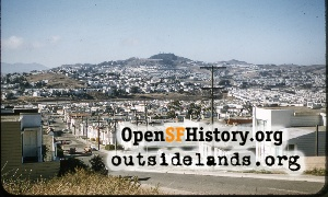View N from Daly City,1955