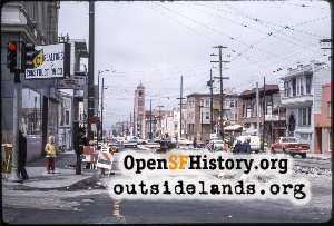 9th & Judah,Jun 1975