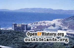 View N from Sutro Heights,Aug 1962