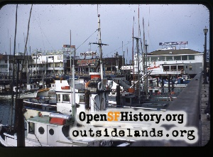 Fisherman's Wharf,Aug 1953