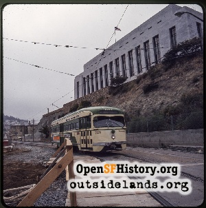 Duboce near Buchanan St,1970s