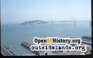 View from Coit Tower,1957