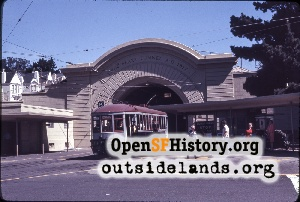 Twin Peaks Tunnel,Sep 1970