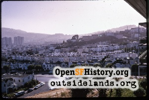 View to Visitacion Valley,Jul 1966