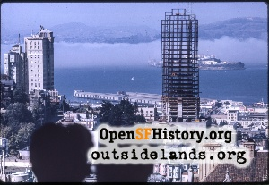 View from Nob Hill,Oct 1962