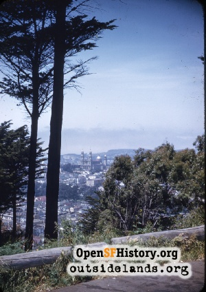 View from Buena Vista Park,1945