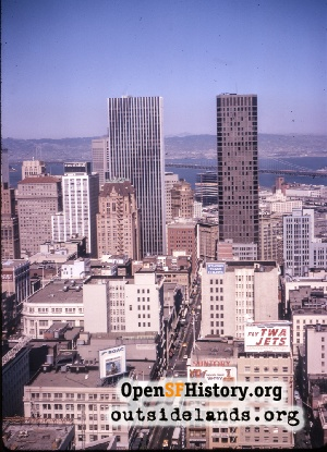 Downtown View,Aug 1972