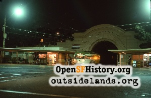 Twin Peaks Tunnel,Dec 1974