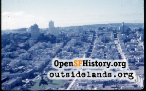 View from Coit Tower,1958